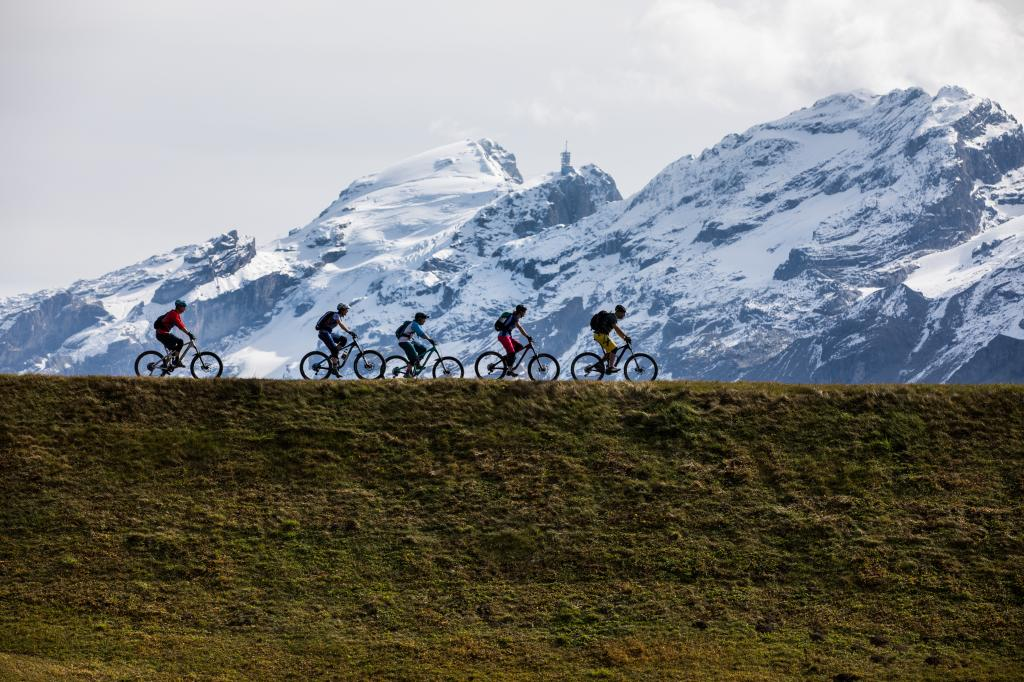 Mountain bike routes in Engelberg – a look behind the scenes