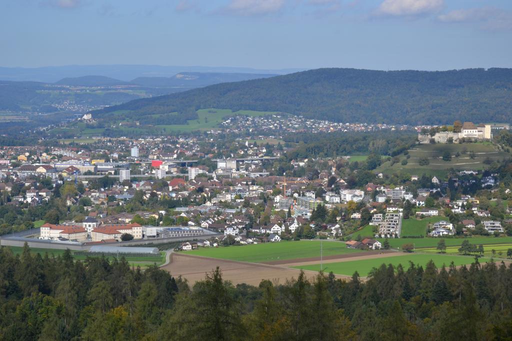 Lenzburg - Esterliturm - Schloss Hallwyl