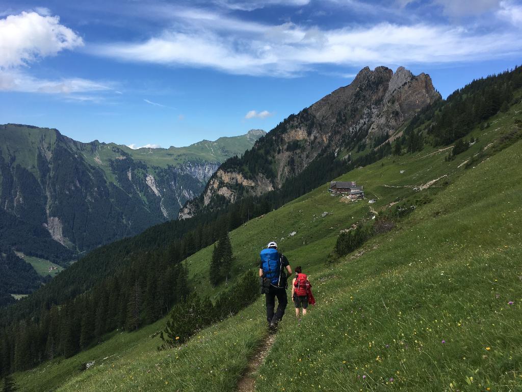 Alpenkranz 2. Etappe: Gitschenen – Gitschenhörelihütte – Biwaldalp
