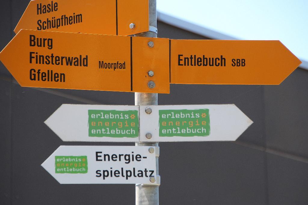 Erlebnis Energie Entlebuch –Themenweg zu allerhand Energieträgern