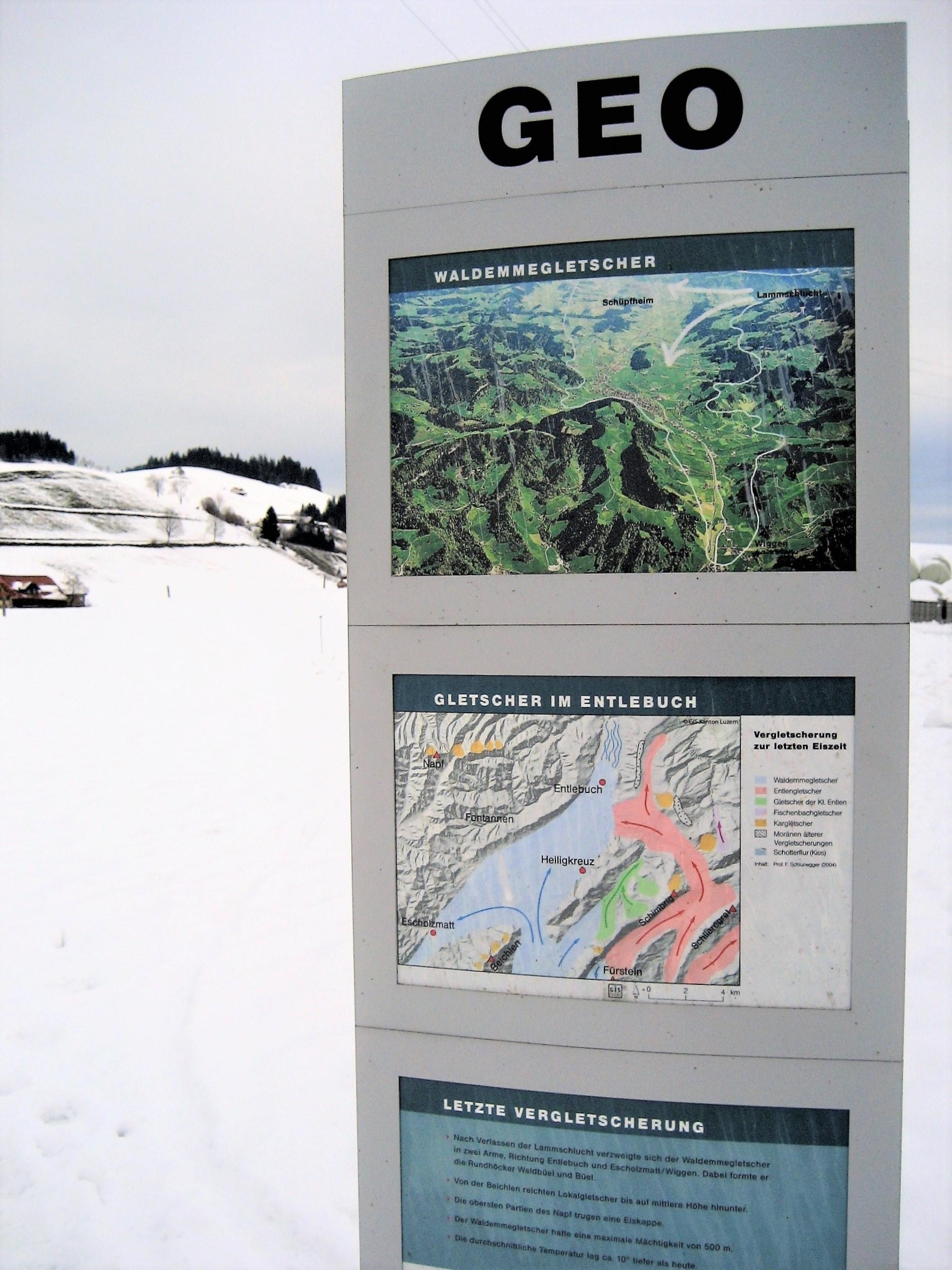 Geo-Pfad Escholzmatt - Eine geformte Landschaft