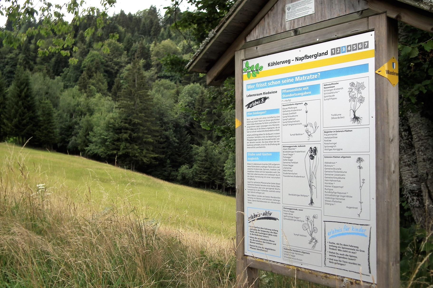 Köhlerweg Romoos - Ein aussergewöhnliches Gewerbe