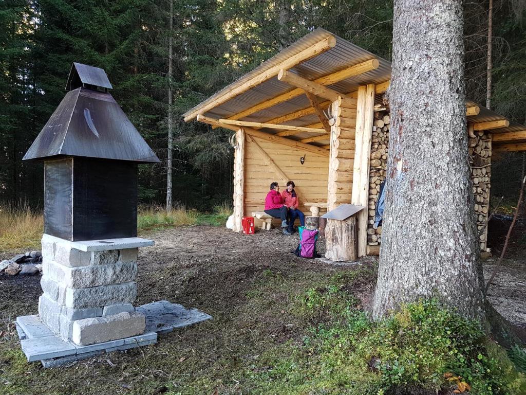 Feuerstelle Schrotwald, Unteriberg