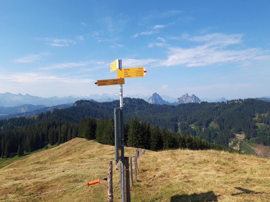 Unteriberg, circular hike Spital-Regenegg
