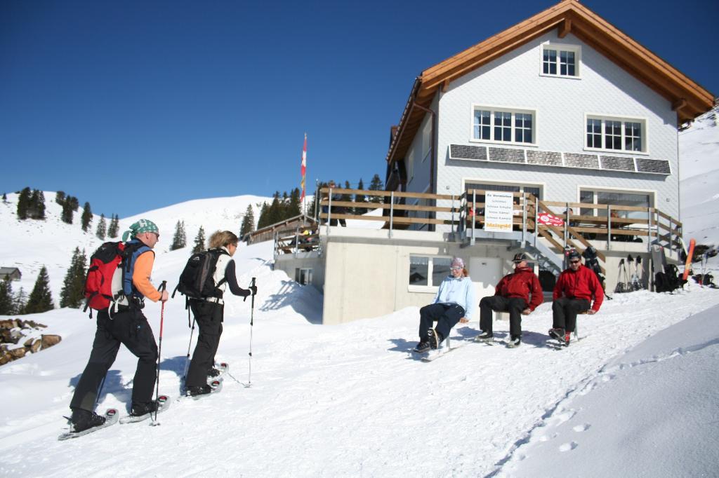 Druesberghütte, Schlittelplausch