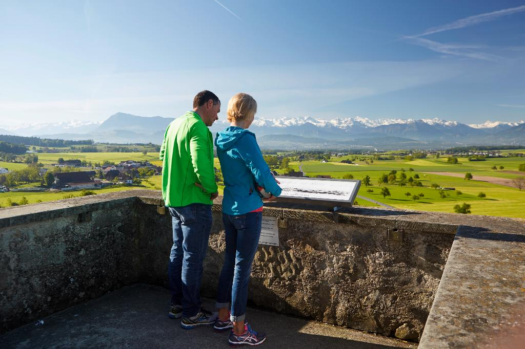 Schongau - Horben - Hohenrain, Panoramawanderung auf dem Lindenberg