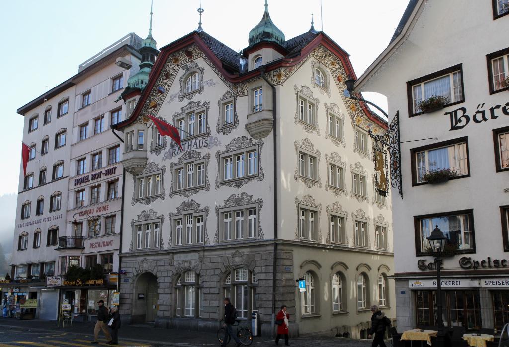 Audiotour Einsiedeln ( rot )