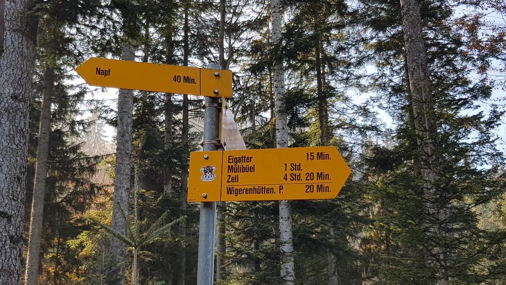 Eine kurze und direkte Route auf den Napf