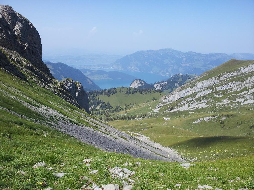 Engelberg valley to Lake Lucerne (multi-day hike)