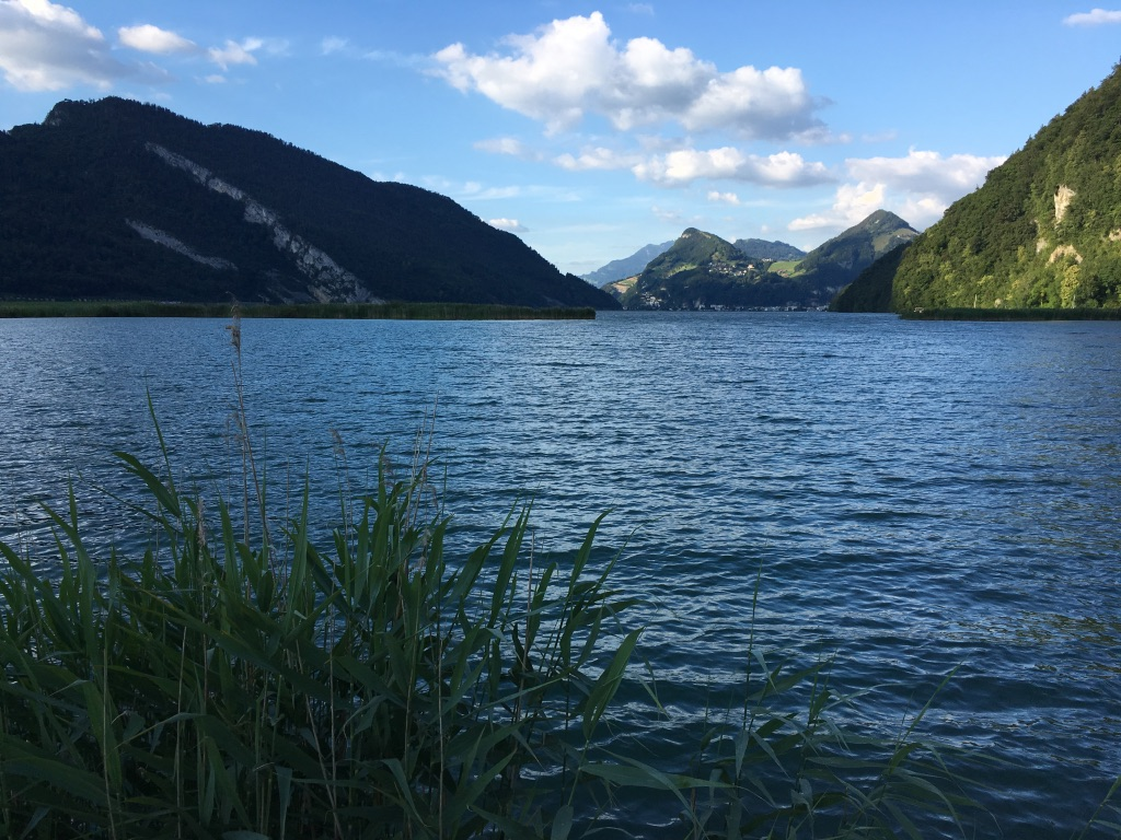 Circumnavigating Lake Alpnach