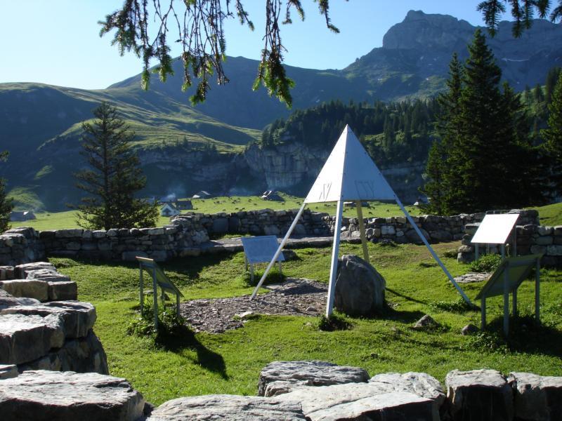 Älggi Alp / geografischer Mittelpunkt der Sc
