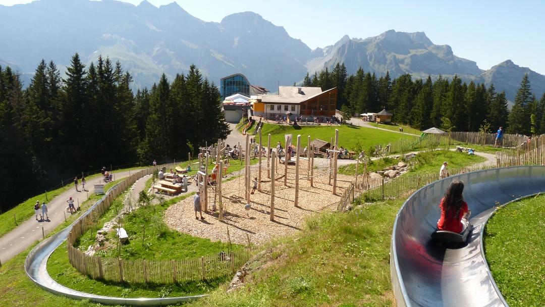 Alpkäse-Trail Family Etappe Brunni