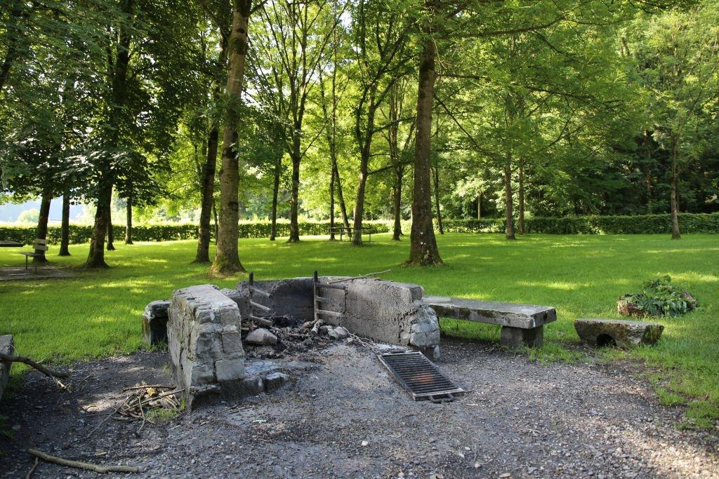 Feuerstelle an der Luther Schötz