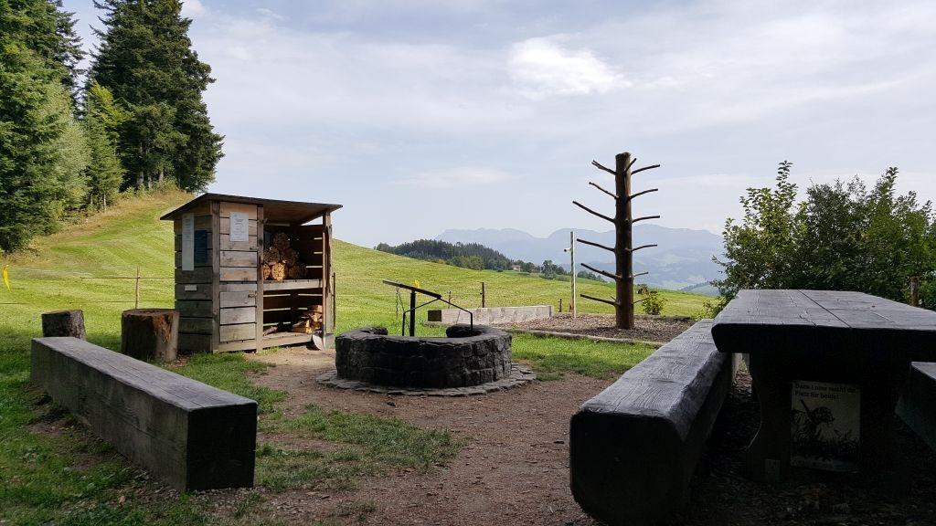Feuerstelle Ofenlochrutsche Menzberg