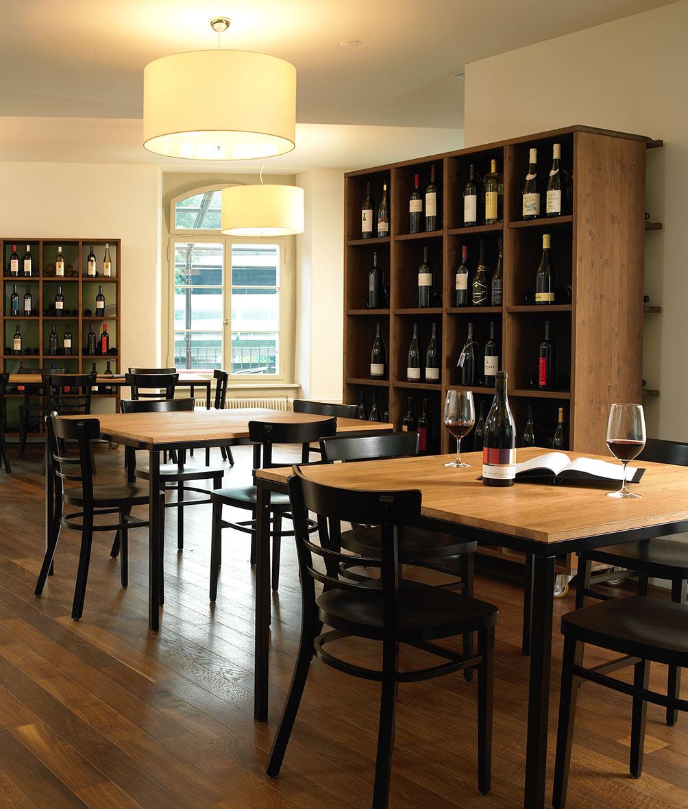 Weinrausch – directly at the Reuss