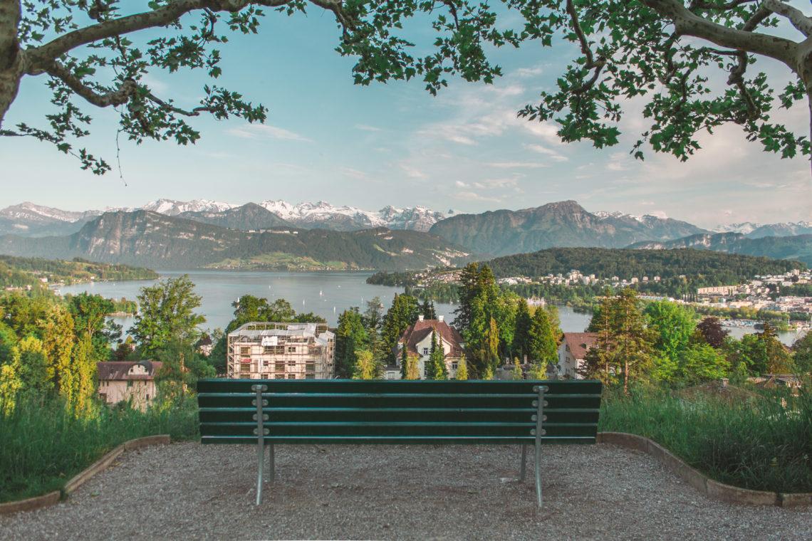 Ein Sommerabend in Luzern - Blogbeitrag